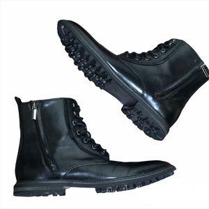 Robert Wayne Thatcher Zip/Lace Up Ankle Boot 8.5